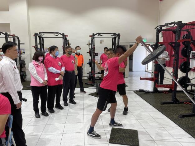 1091123充實肌力訓練器材,肌力體能教官團成軍儀式7