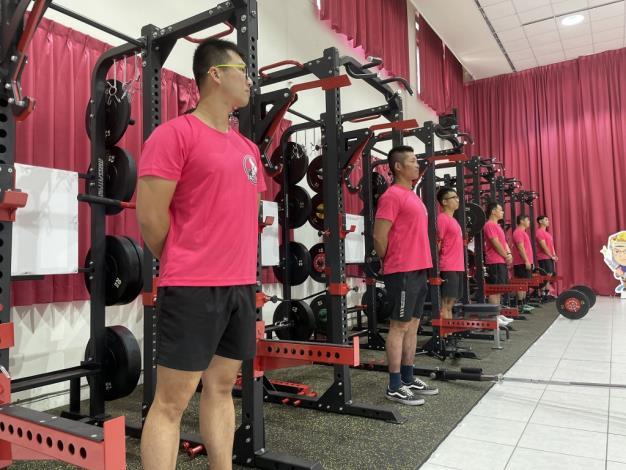 1091123充實肌力訓練器材,肌力體能教官團成軍儀式13