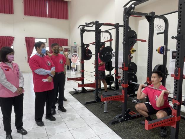 1091123充實肌力訓練器材,肌力體能教官團成軍儀式3