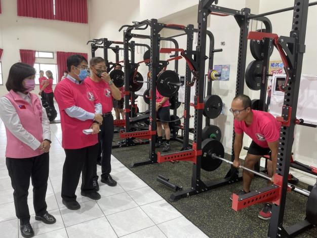 1091123充實肌力訓練器材,肌力體能教官團成軍儀式4