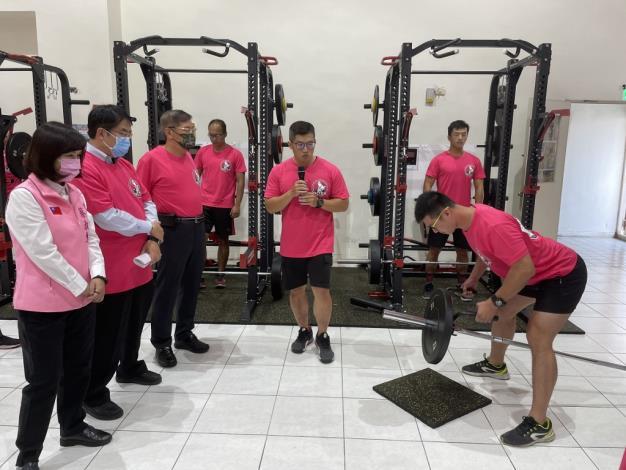 1091123充實肌力訓練器材,肌力體能教官團成軍儀式5