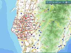 多目標地籍圖資地理資訊系統畫面預覽