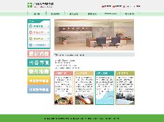 臺南觀光醫療網畫面預覽