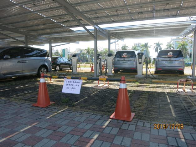 秘書處電動車充電樁回應稿~秘書處針對南島路外電動車停車場充電樁設備現況回復(共2張)-1