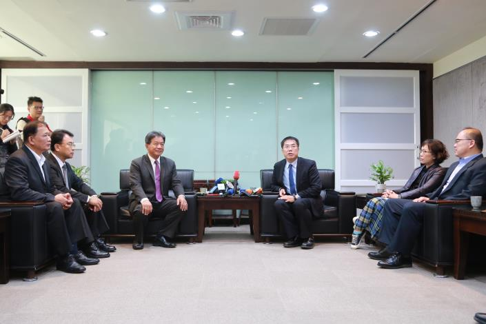 府會協商一同為台南市打拼