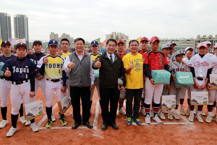 市長歡迎來自日本的六支優秀隊伍來台南共襄盛舉