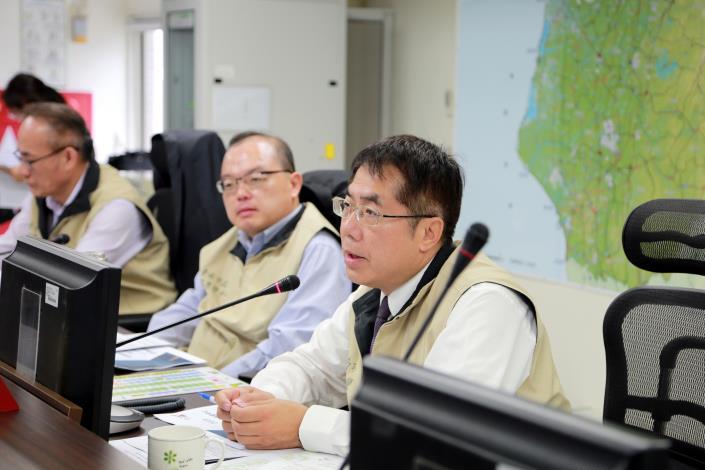 「超前佈署、阻絕境外」南市府今召開防範非洲豬瘟應變第2次工作會議(共3張)-1