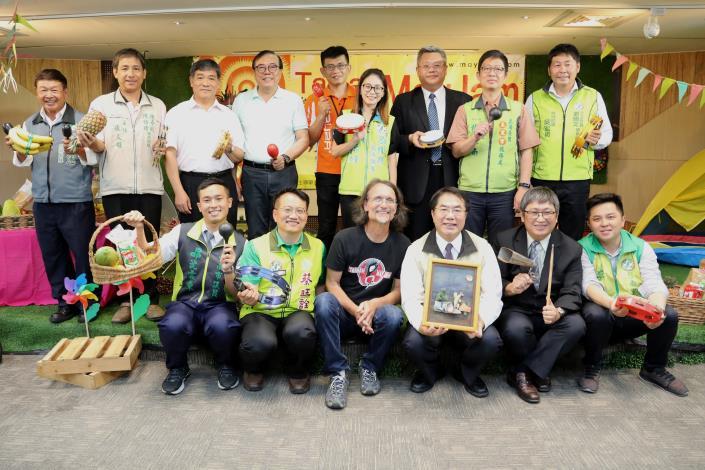 臺南在地音樂盛會五月開唱,黃偉哲市長邀請大家體驗多國音樂藝術與文化之美(共3張)-1
