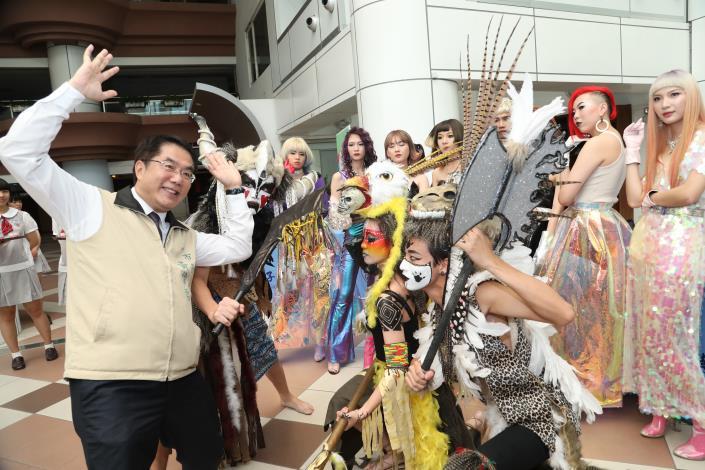台南市2019技職博覽會記者會登場 黃市長鼓勵學子參與一探職涯(共7張)-1