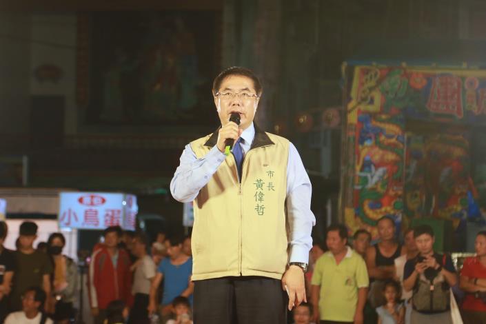 市長出席西港刈香文化季無形文化資產授證儀式致詞