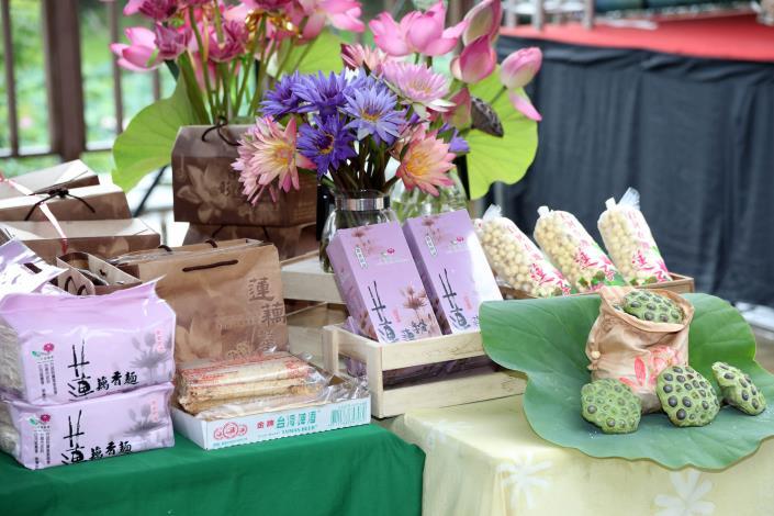 0518白河蓮子農特產品展售