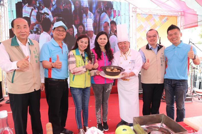 新化五寶節登場  邀請名廚「古錐師」示範在地食材入菜料理(共5張)-1