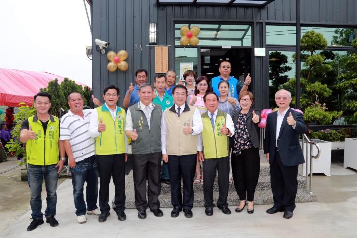 市長出席大內日照中心開幕儀式