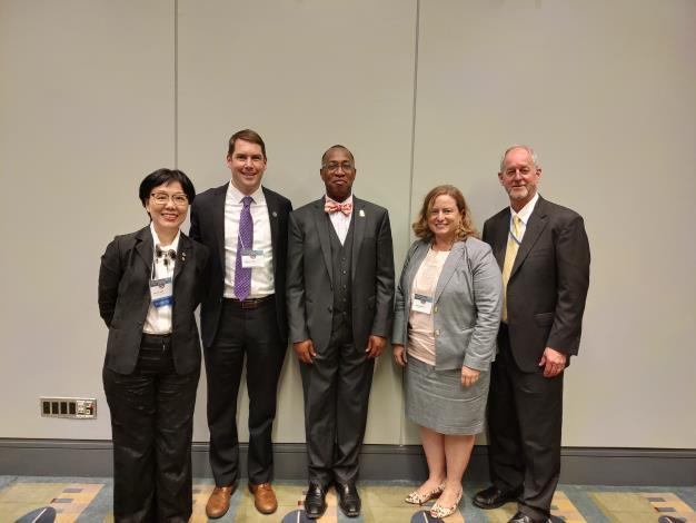 王時思副市長赴美參加「2019全球城市挑戰博覽會」  代表臺灣參加市長圓桌論壇