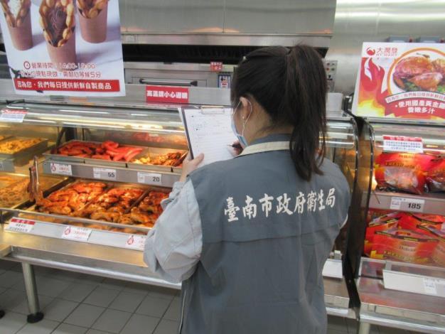 黃市長:落實食安管理 確保臺南美食聖地 秋節宣導作業不可少