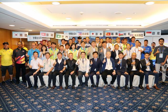 2019亞洲大學足球錦標賽明熱血開踢,黃市長:來臺南為選手加油(共2張)-1
