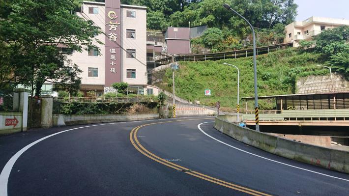 關子嶺溫泉老街道路新鋪 升格優質觀光(共2張)-1