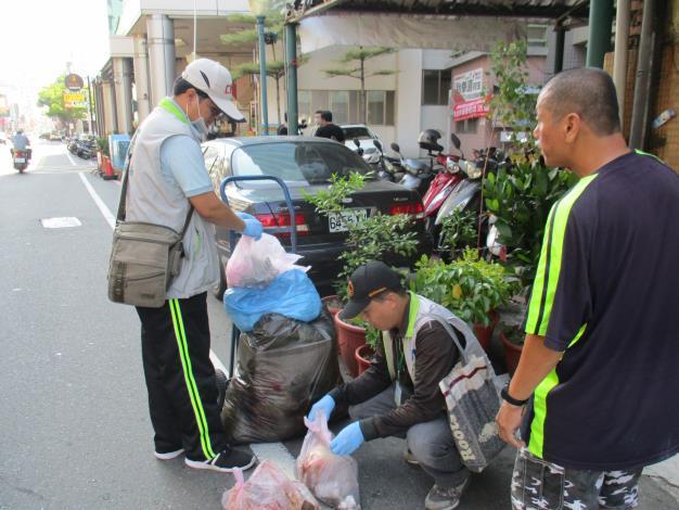 臺南資源回收率53.92%已達109年預期目標      黃市長:每個市民都是環保志工 共同邁向更宜居的臺南市(共2張)-1