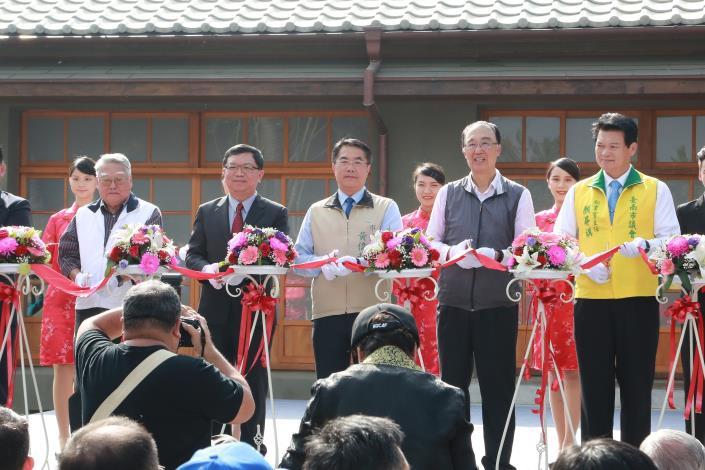 市長出席水交社文化園區開幕剪綵儀式