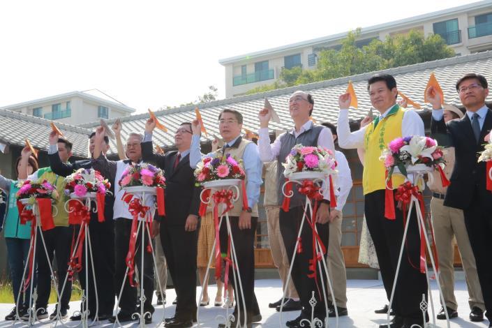 市長出席水交社文化園區開幕啟用儀式