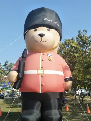 """新化年貨大街與""""熊""""共""""舞""""(共2張)-1"""