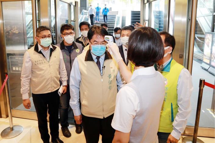 五一連假台南防疫工作謹慎部署 黃偉哲:南市府防疫OK,歡迎大家來台南玩(共5張)-1