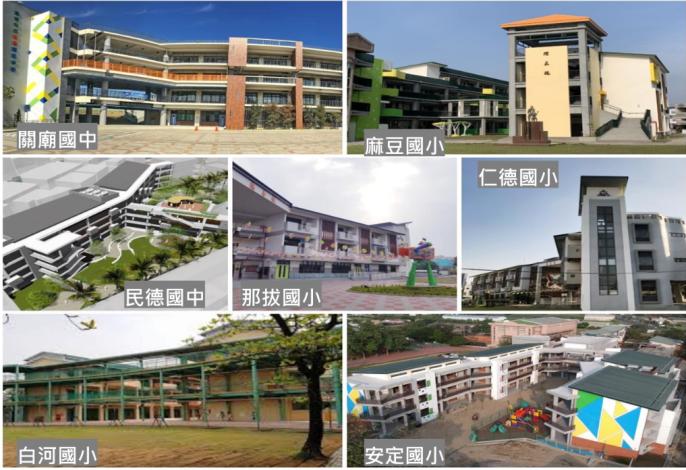 台南爭取全國最多校舍重建和補強經費,黃偉哲感謝各方為台南優質校舍展新貌
