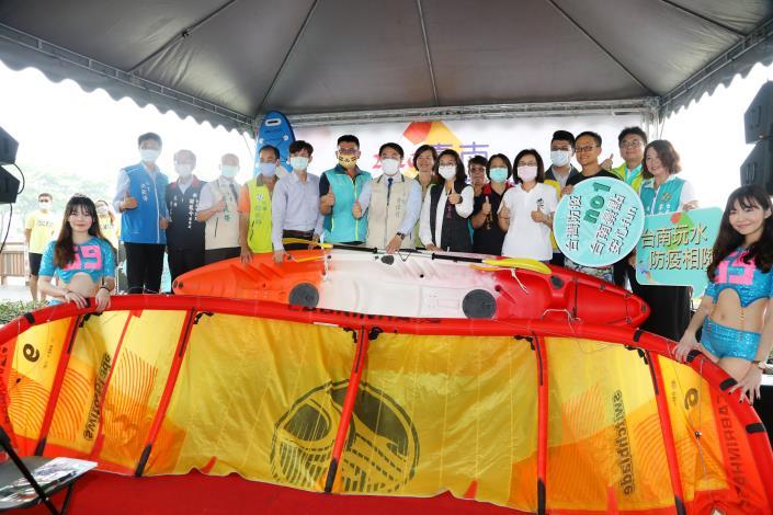 配合「防疫新生活」 黃偉哲邀請大家6~10月來台南體驗水域遊憩(共5張)-1