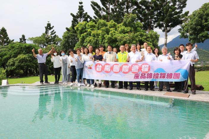 與中央防疫旅遊同步起跑 黃偉哲同日全國首發日本遊程踩線團 為台南創造旅遊商機(共6張)-1