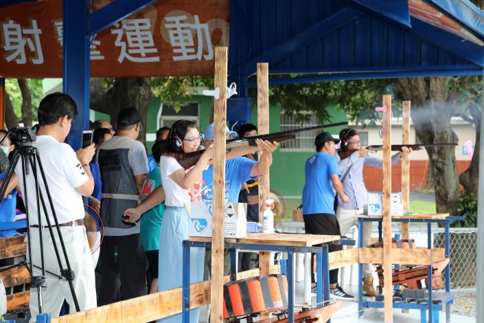 0529安心旅遊踩線團到台南體驗快感飛靶射擊03