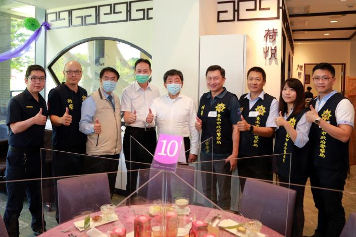 「防疫五月天」肯定台南防疫旅遊 黃偉哲歡迎大家到台南玩 再創觀光熱潮(共4張)-1
