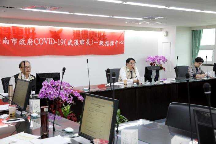 落實防疫新生活運動 黃偉哲要求台南要積極防疫作為不鬆懈,市民安心生活、安心旅遊(共2張)-1