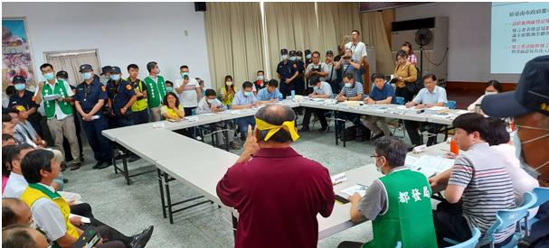 竑榮產業園區開發許可審議第1次小組會議,充分聽取民意,加強民眾溝通(共2張)-1