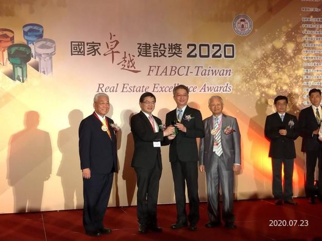 2020國家卓越建設獎出爐 台南市「竹溪榮獲卓越獎」全台唯一雙料肯定(共10張)-1