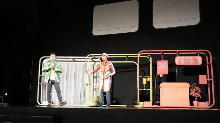 台南晴空藝術節《變聲偵探》開幕演出 現場民眾笑聲不斷、驚嘆連連(共5張)-1
