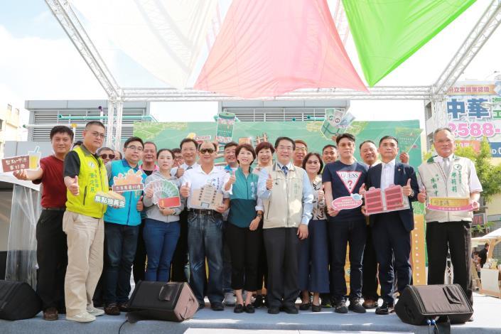 南市好享購市集好物多多 黃偉哲熱情歡迎全國朋友來台南消費享好康(共5張)-1