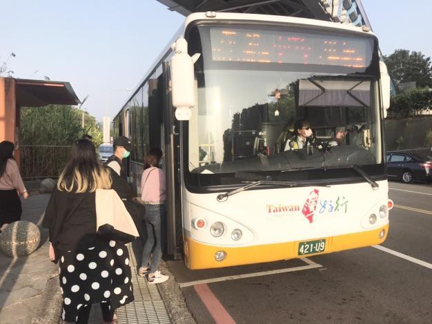 台灣好行山博行線為全台第一條主打「博物館」為主題的路線