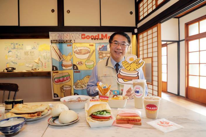 臺南早餐生活節顛覆你對早餐生活的想像 黃偉哲:「四百年的城市 孕育獨一無二的早餐文化」(共10張)-1