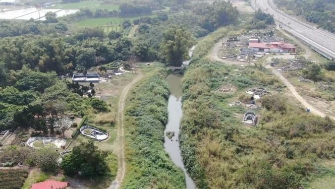 虎頭溪排水預計施作現況照片