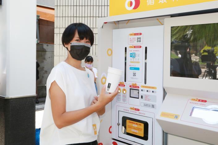 麥當勞、好盒器、foodpanda與台南市政府共同推廣環保政策
