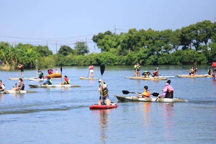 6.水域遊憩活動 SUP體驗(南市觀旅局提供)