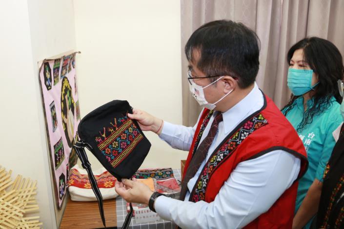 市長參觀西拉雅族成果發表