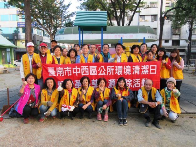中西區1月12日「環境清潔日」,大涼社區志工參與「清淨家園」環境維護(共3張)-1