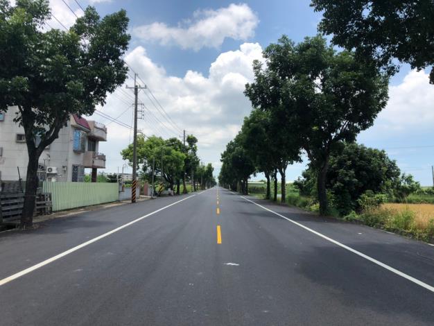 市府爭取前瞻計畫完成善化區4條區道改善-完工照片