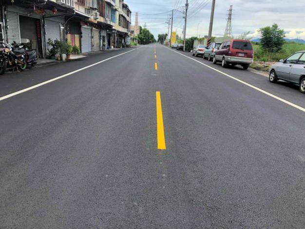 市府爭取前瞻計畫完成善化區4條區道改善-新鋪路面