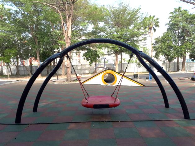 水萍塭公園兒童遊樂區跳脫「罐頭式」枷鎖添童趣