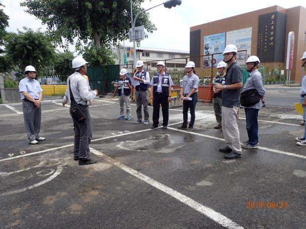 白鹿颱風來襲 工務局全力投入防災-體育場勞工育樂中心