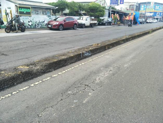 明興路(喜樹路至喜樹路340巷及萬年路至南萣橋)路面改善工程-施工前