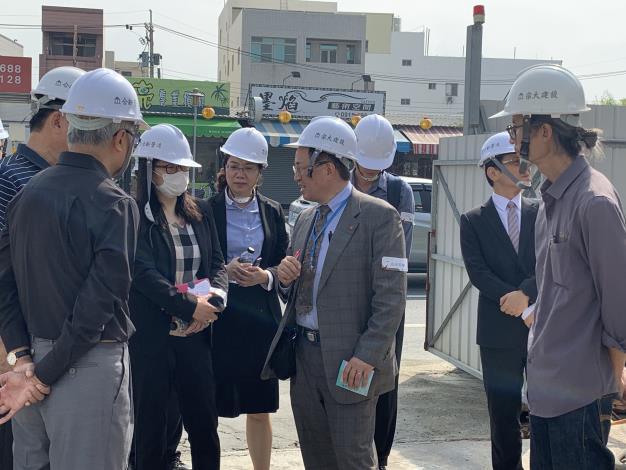 日本專家學者汲取台南市0206地震維冠大樓倒塌善後經驗 認比日本進步-工程現場