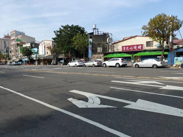 海安路11日起為期3日進行路平專案路面改善前